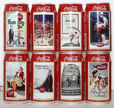 2006 Coca-Cola 120 Years 8 can set Japan  More Coca-Cola @ http://groups.google.com/group/Inge-Coca-Cola & http://groups.yahoo.com/group/IngesCocaCola http://www.facebook.com/groups/ArtandStuff