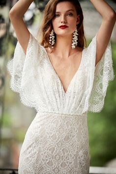 Lace Wedding Dress Red Bridal Dress Father Daughter Dance Dresses Trumpet Wedding Dress Cheap Mother Of The Bride Dresses – yyshoop Red Bridesmaid Dresses, Red Wedding Dresses, Cheap Wedding Dress, Bridal Dresses, Wedding Gowns, Bhldn Wedding, Boho Wedding, Wedding Shoes, Wedding Speeches