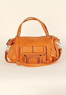 Homecoming Trunk Shows - Basia Satchel - Spicy Orange - New Arrival
