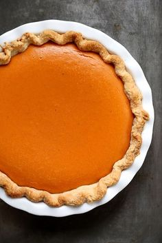 Dad's Perfect Sweet Potato Pie, from Joy the Baker