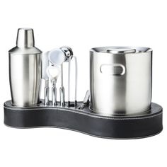 I so needed this set for a Bday party!   Entertain and Impress at the same time...Kraftware Bar Set - 11 piece