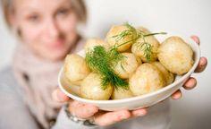 IDEAS. Varhaisperunat voi myös pakastaa myöhempää herkuttelua varten.  Freeze potatoes.