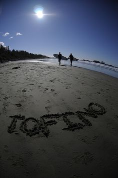Surfing in Tofino, British Columbia.... awesome.