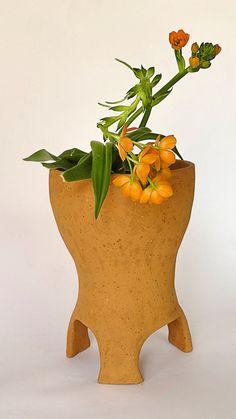 Clay Pot Terracota Planter Ceramic Flower Pot by GlinkaDesign