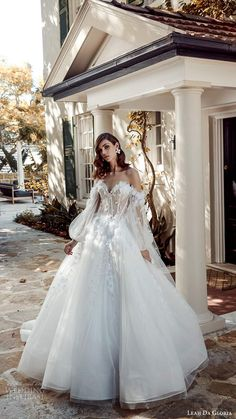 leah da gloria 2020 bridal couture illusion bishop sleeves off shoulder sweetheart neckline embellished bodice ball gown wedding dress chapel train mv -- Leah Da Gloria 2020 Couture Wedding Dresses Princess Wedding Dresses, Best Wedding Dresses, Boho Wedding Dress, Bridal Dresses, Ballgown Wedding Dress, Wedding Shoes, Wedding Cake, Wedding Rings, Couture Wedding Gowns