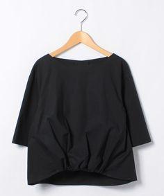 コットン ギャザーショートスリーブブラウス-Ballsey(Ballsey)   全品送料無料   レディース・メンズ ファッション通販 MAGASEEK(001533467)