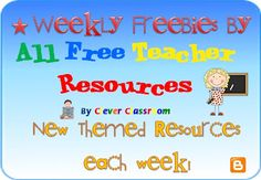 Share your freebies each week with our free blog. Or drop in to see what free teaching resources are being posted by our sponsors. All Free Teacher Resources, where everything is free.