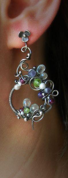 Handmade earrings. Fair Masters - handmade earrings Ciriola. Handmade.