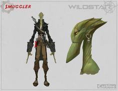 Wildstar Concept Art - Characters