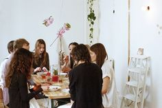 blossom tea party ++ via @Jessica Comingore for Kinfolk . @Nathan Williams | Kinfolk