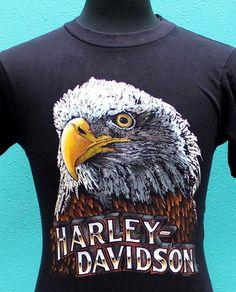 vintage HARLEY DAVIDSON 80s
