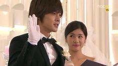 """""""Yo, Baek Seung Jo, juro a Oh Ha Ni amarla y honrarla, en las buenas y en las malas. También juro respetar a mis mayores y ser un esposo leal"""" - Los votos de matrimonio (Playful Kiss ep 15)"""