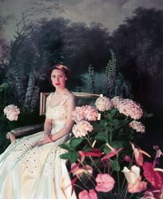 2nd child of Queen Elizabeth I & King George VI & sister of Queen Elizabeth II, Princess Margaret by Cecil Beaton.  Beautiful