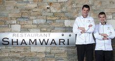 Vincent Betton, Chef de Cuisine et Clément Quérel, Chef Pâtissier du Jiva Hill Resort, Relais & Châteaux, tout proche de Genève #staff #chef #cuisine