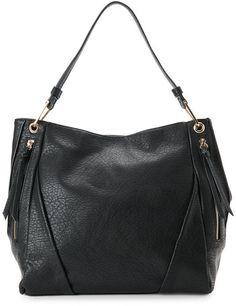 Check Out Black Lauren Shoulder Bag From Century 21