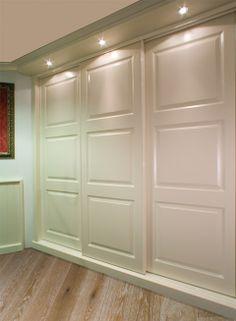 Kastenwand Wardrobe Doors, Bedroom Wardrobe, Built In Wardrobe, Master Bedroom, Bedroom Decor, Bedroom Cupboard Designs, Bedroom Cupboards, Sliding Closet Doors, Room Doors