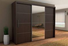 Brand New Modern Bedroom Wardrobe Sliding Door with Mirror INOVA 2 250cm