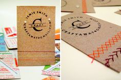 Stand Out with 25 DIY Business Cards via Brit + Co.