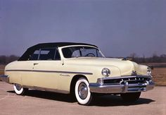 The 1951 Lincoln Cosmopolitan convertible, of which only 857 units were produced.