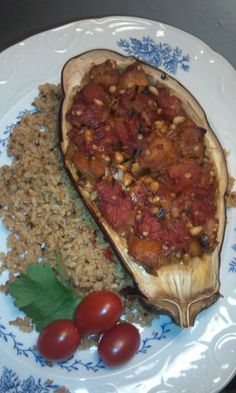 Jerk Stuffed Eggplant Recipe