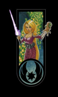 Disney Princesses as Jedi Masters Are a Thing of Badass Beauty | Nerdist