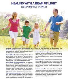 Energy Services, Deep Impact, Reduce Stress, Pumping, Healing