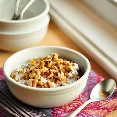 Breakfast Recipe:  Slow Cooker Spiced Porridge Yum!!