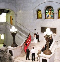 Getting married in Minnesota? These unique Minneapolis wedding venues will make your wedding planning dreams come true, from castles to urban ruins and museums. | Minneapolis City Hall & Hennepin County Courthouse
