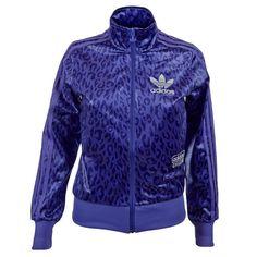 adidas Originals Chile 62 Womens Tracksuit Top / Jacket  UK 8 to 20  Purple