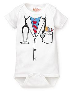 Sara Kety Infant Boys' Doctor Onesie