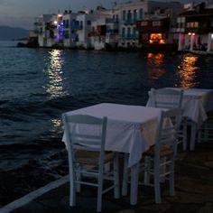 waterside dinner