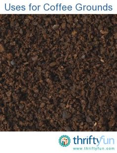 This guide contains recycling used coffee grounds. Used coffee grounds have a number of uses around the house.