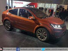 Mahindra Unveils Stunning XUV Aero Concept Coupe At Auto Expo  #AutoExpo2016 #Mahindra