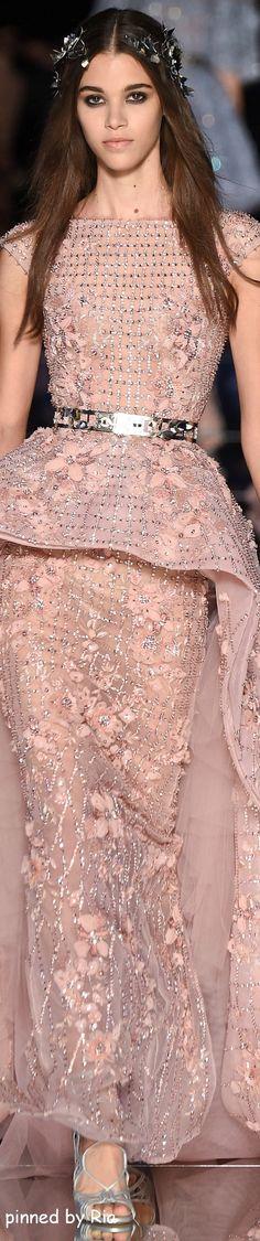 Zuhair Murad Spring 2016 ~ETS #zuhairmurad #couture #pink