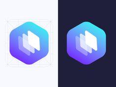 Logotype - Be my web designed by Marlene Jamett. Logo Design Inspiration, Icon Design, Web Design, Ecommerce Logo, App Logo, Modern Logo Design, App Icon, Branding Ideas, Logo Ideas