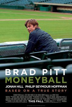 'Moneyball' with Jonah Hill, Brad Pitt & Robin Wright.       -------      http://www.imdb.com/title/tt1210166