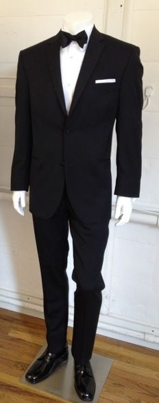 Vera Wang - Slim Fit Tuxedo This is what our groomsmen are wearing!