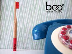 Bamboo toothbrush -my boo company