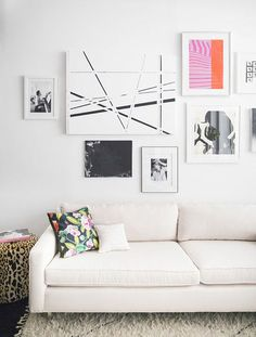 Gorgeous gallery wall