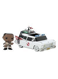HOTTOPIC.COM - Funko Ghostbusters Pop! Rides Ecto-1 With Winston Zeddemore Vinyl Vehicle