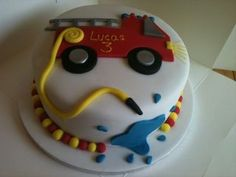 fire engine - Cake by little pickers cakes - CakesDecor