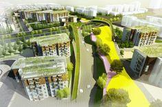 Dechang linear park Linear Park, Urban Park, Parks, Fair Grounds, Fun, Urban, Parkas, Hilarious