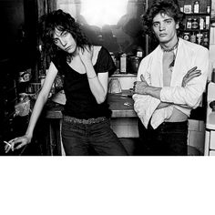 The Most Stylish Couples of All Time :: Patti Smith & Robert Mapplethorpe, lensed by Norman Seeff in 1969