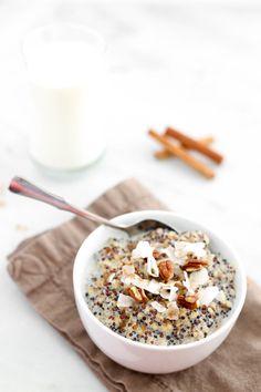 2. Spiced Chai Breakfast Quinoa #healthy #quinoa #recipes http://greatist.com/eat/breakfast-quinoa-recipes