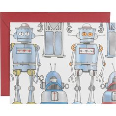 Robots A2 Stationery - Paper Source