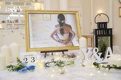 前撮り&結婚式用の手作りアイテム☆ナチュラルな素材で完成度の高いものに! Wedding Welcome Board, Welcome Boards, Wedding Set Up, Diy Wedding, Dream Wedding, Welcome Photos, Photo Booth, Wedding Decorations, Reception