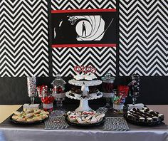James Bond Party! I'd do it up differently, classier, but I like the Idea of a James Bond Party a lot!