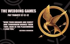 @Ciara Whitfield  The Wedding Games. Hunger Games inspired save the date :)