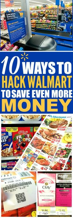 These 10 money saving walmart tips are THE BEST! I'm so happy I found these GREAT tips! Now I have some great ways to save money at Walmart and save money on groceries! Definitely pinning!