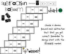Freebie - math center game